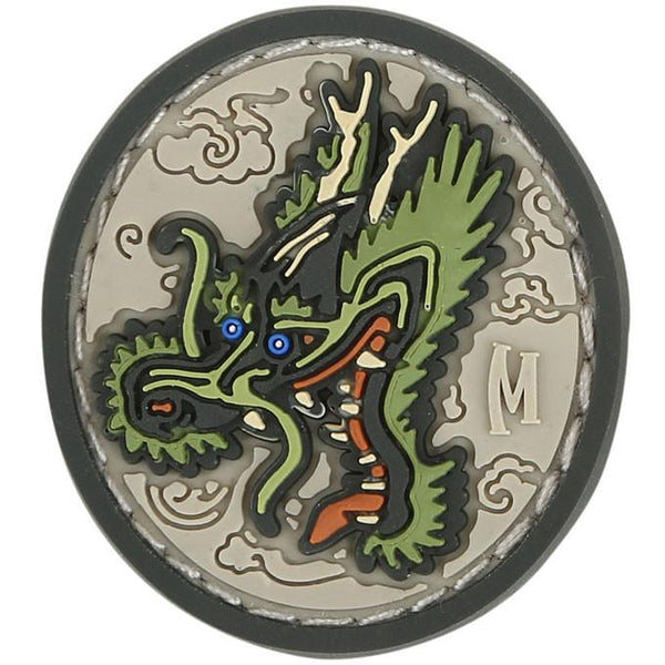 DRAGON HEAD PATCH - MAXPEDITION, Patches, Military, CCW, EDC, Tactical, Everyday Carry, Outdoors, Nature, Hiking, Camping, Bushcraft, Gear, Police Gear, Law Enforcement