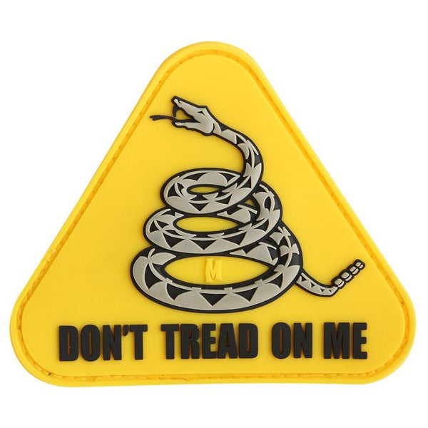 DON'T TREAD ON ME PATCH - MAXPEDITION, Patches, Military, CCW, EDC, Tactical, Everyday Carry, Outdoors, Nature, Hiking, Camping, Bushcraft, Gear, Police Gear, Law Enforcement