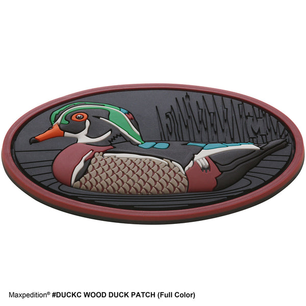 WOOD DUCK PATCH - MAXPEDITION, Patches, Military, CCW, EDC, Tactical, Everyday Carry, Outdoors, Hiking, Camping, Bushcraft, Gear, Police Gear, Law Enforcement