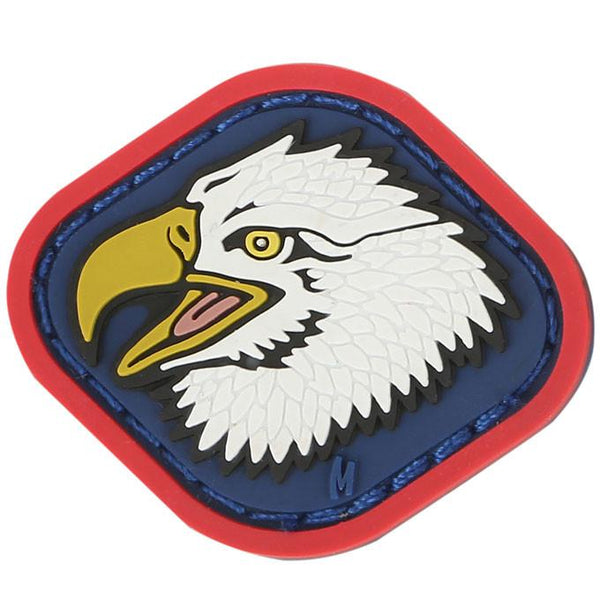EAGLE HEAD PATCH - MAXPEDITION, Patches, Military, CCW, EDC, Tactical, Everyday Carry, Outdoors, Nature, Hiking, Camping, Bushcraft, Gear, Police Gear, Law Enforcement