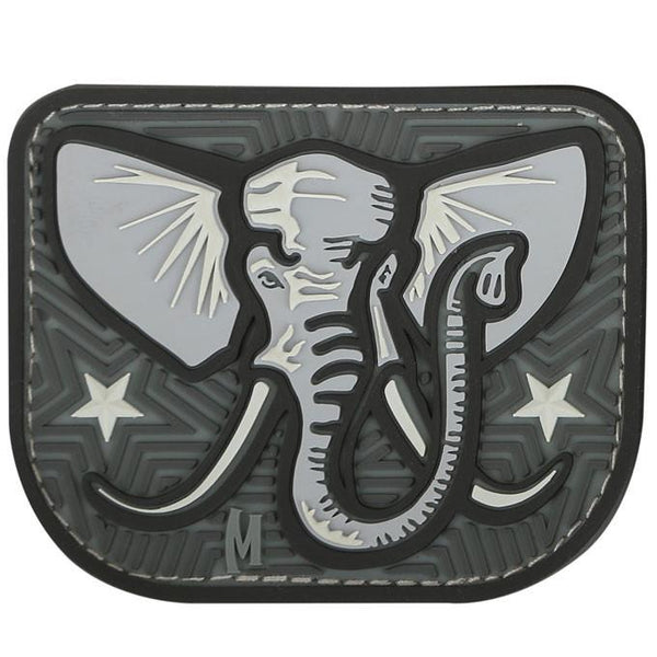 ELEPHANT PATCH - MAXPEDITION, Patches, Military, CCW, EDC, Tactical, Everyday Carry, Outdoors, Nature, Hiking, Camping, Bushcraft, Gear, Police Gear, Law Enforcement
