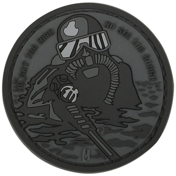 FROGMAN PATCH - MAXPEDITION, Patches, Military, CCW, EDC, Tactical, Everyday Carry, Outdoors, Nature, Hiking, Camping, Bushcraft, Gear, Police Gear, Law Enforcement