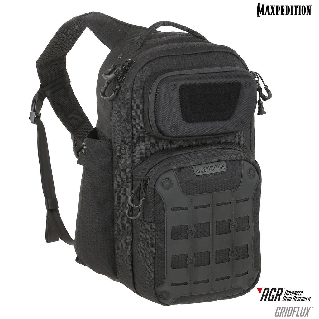 GRIDFLUX™ ERGONOMIC SLING PACK 18L - Black
