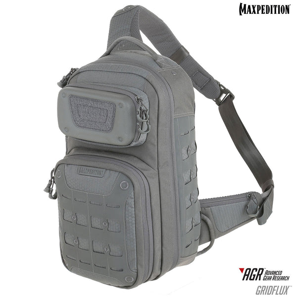 GRIDFLUX - MAXPEDITION, Backpack, Maxpedition, Military, CCW, EDC, Tactical, Everyday Carry, Outdoors, Nature, Hiking, Camping, Police Officer, EMT, Firefighter, Bushcraft, Gear.