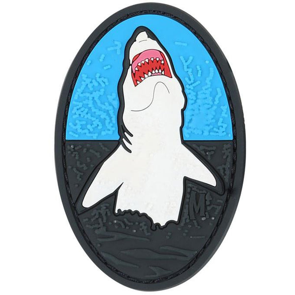 GREAT WHITE SHARK PATCH - MAXPEDITION, Patches, Military, CCW, EDC, Tactical, Everyday Carry, Outdoors, Nature, Hiking, Camping, Bushcraft, Gear, Police Gear, Law Enforcement