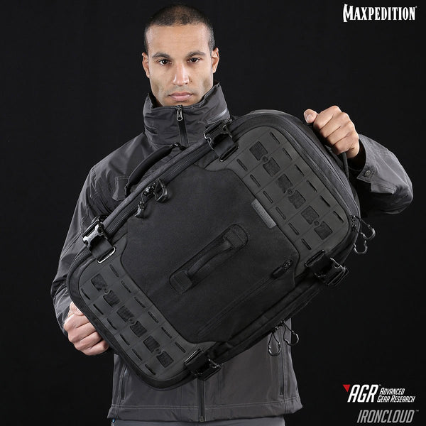 The Overall size of Maxpedition's Ironcloud is : 14 (L) x 10 (W) x 22 (H) in | 35.6 x 25.4 x 55.9 cm