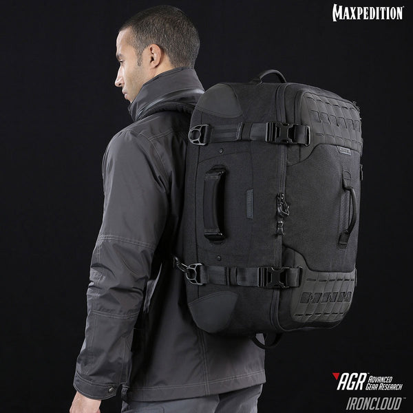 Maxpedition's Ironcloud Adventure Travel bag is part of the new AGR Advanced Research Gear line.
