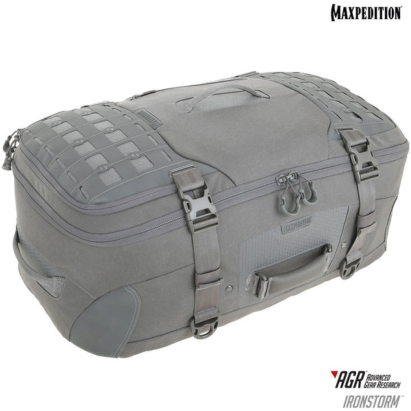 Maxpedition- Ironstorm, Adventure, Organized , Ample ,Travel Bag, Carry-on Friendly, TSA Friendly, Frequent Flyer, Traveler, Luggage, CCW, Concealed Carry, Camping, Hiking