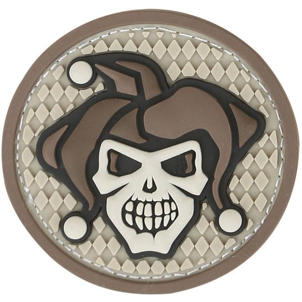 JESTER SKULL PATCH - MAXPEDITION, Patches, Military, CCW, EDC, Tactical, Everyday Carry, Outdoors, Nature, Hiking, Camping, Bushcraft, Gear, Police Gear, Law Enforcement
