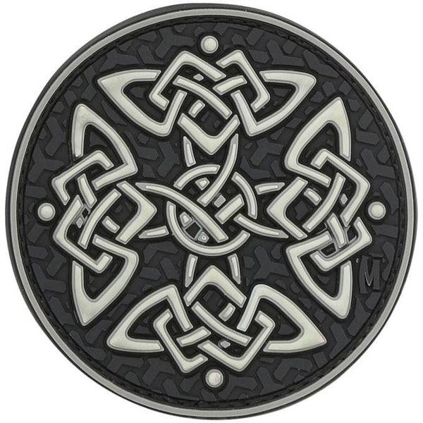 CELTIC CROSS PATCH - MAXPEDITION, Patches, Military, CCW, EDC, Tactical, Everyday Carry, Outdoors, Nature, Hiking, Camping, Bushcraft, Gear, Police Gear, Law Enforcement