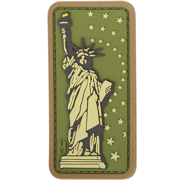 LADY LIBERTY PATCH - MAXPEDITION, Patches, Military, CCW, EDC, Tactical, Everyday Carry, Outdoors, Nature, Hiking, Camping, Bushcraft, Gear, Police Gear, Law Enforcement
