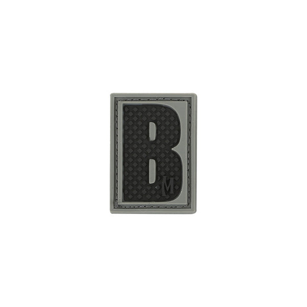 LETTER B PATCH - MAXPEDITION, Patches, Military, CCW, EDC, Tactical, Everyday Carry, Outdoors, Nature, Hiking, Camping, Bushcraft, Gear, Police Gear, Law Enforcement