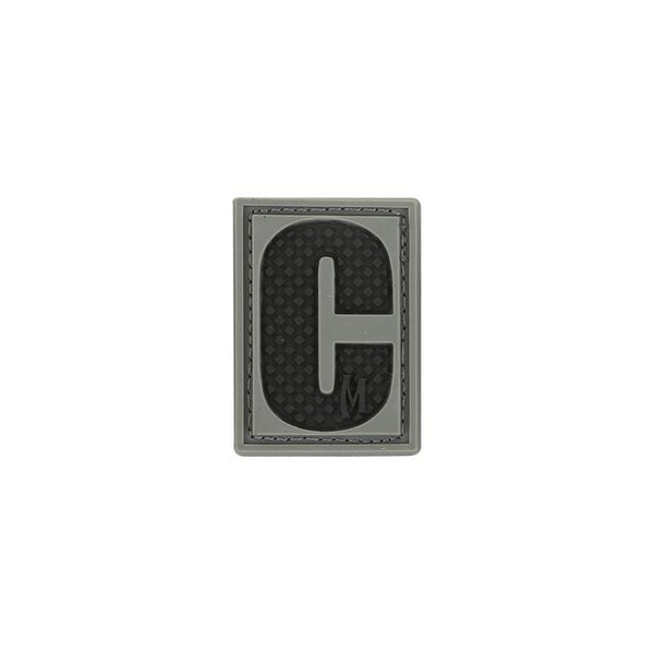 LETTER C PATCH - MAXPEDITION, Patches, Military, CCW, EDC, Tactical, Everyday Carry, Outdoors, Nature, Hiking, Camping, Bushcraft, Gear, Police Gear, Law Enforcement