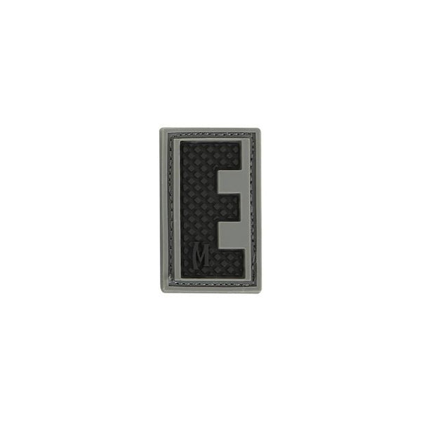 LETTER E PATCH - MAXPEDITION, Patches, Military, CCW, EDC, Tactical, Everyday Carry, Outdoors, Nature, Hiking, Camping, Bushcraft, Gear, Police Gear, Law Enforcement