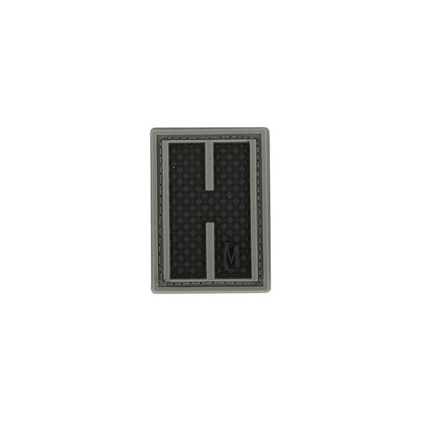 LETTER H PATCH - MAXPEDITION, Patches, Military, CCW, EDC, Tactical, Everyday Carry, Outdoors, Nature, Hiking, Camping, Bushcraft, Gear, Police Gear, Law Enforcement