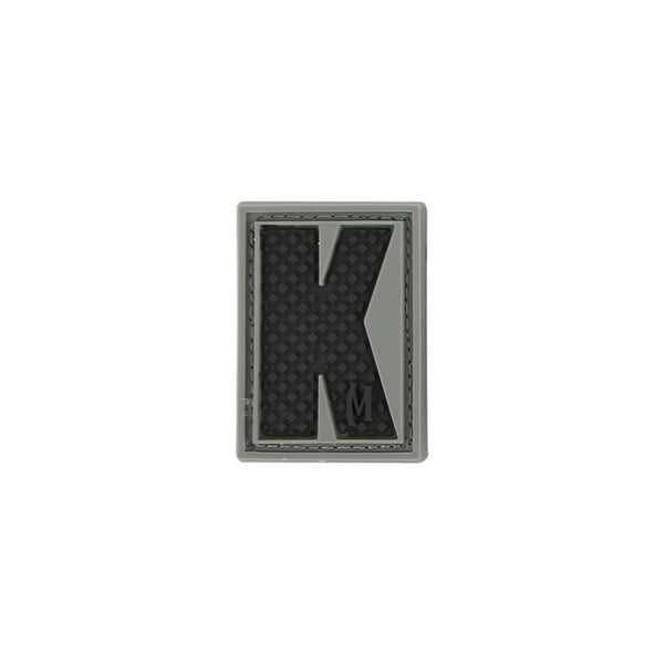 LETTER K PATCH - MAXPEDITION, Patches, Military, CCW, EDC, Tactical, Everyday Carry, Outdoors, Nature, Hiking, Camping, Bushcraft, Gear, Police Gear, Law Enforcement