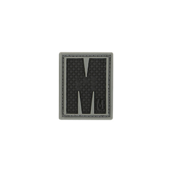 LETTER M PATCH - MAXPEDITION, Patches, Military, CCW, EDC, Tactical, Everyday Carry, Outdoors, Nature, Hiking, Camping, Bushcraft, Gear, Police Gear, Law Enforcement