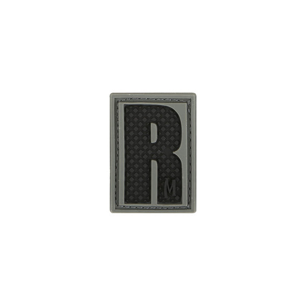 LETTER R PATCH - MAXPEDITION, Patches, Military, CCW, EDC, Tactical, Everyday Carry, Outdoors, Nature, Hiking, Camping, Bushcraft, Gear, Police Gear, Law Enforcement