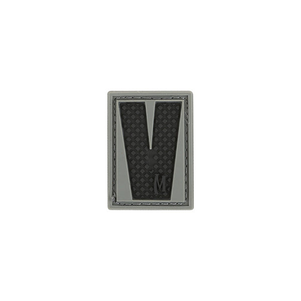 LETTER V PATCH - MAXPEDITION, Patches, Military, CCW, EDC, Tactical, Everyday Carry, Outdoors, Nature, Hiking, Camping, Bushcraft, Gear, Police Gear, Law Enforcement