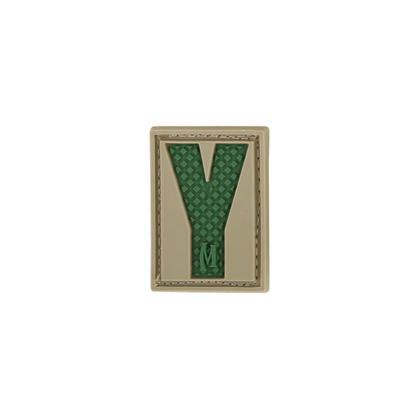 LETTER Y PATCH - MAXPEDITION, Patches, Military, CCW, EDC, Tactical, Everyday Carry, Outdoors, Nature, Hiking, Camping, Bushcraft, Gear, Police Gear, Law Enforcement