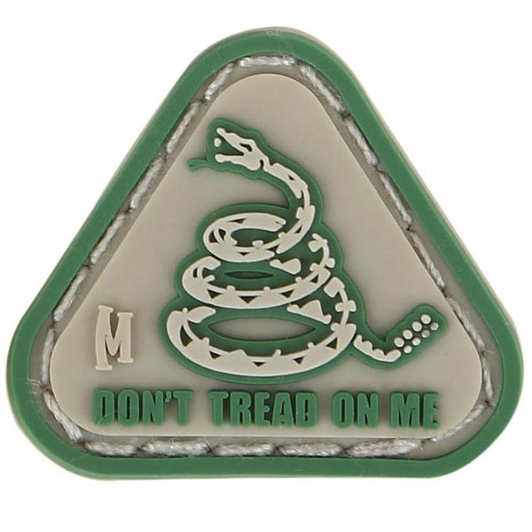 DON'T TREAD ON ME MICROPATCH - MAXPEDITION, Patches, Military, CCW, EDC, Tactical, Everyday Carry, Outdoors, Nature, Hiking, Camping, Bushcraft, Gear, Police Gear, Law Enforcement