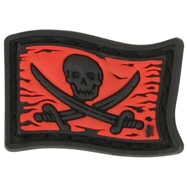JOLLY ROGER MICROPATCH - MAXPEDITION, Patches, Military, CCW, EDC, Tactical, Everyday Carry, Outdoors, Nature, Hiking, Camping, Bushcraft, Gear, Police Gear, Law Enforcement