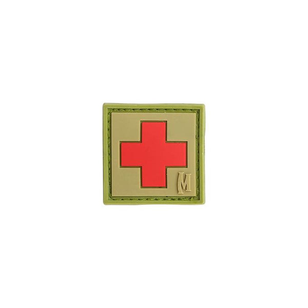 MEDIC PATCH (SMALL) - MAXPEDITION, Patches, Military, CCW, EDC, Tactical, Everyday Carry, Outdoors, Nature, Hiking, Camping, Bushcraft, Gear, Police Gear, Law Enforcement
