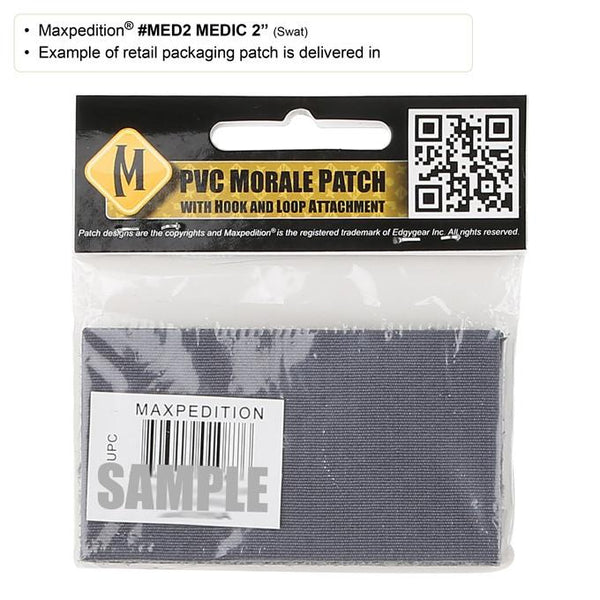 MEDIC PATCH (LARGE) - MAXPEDITION, Patches, Military, CCW, EDC, Tactical, Everyday Carry, Outdoors, Nature, Hiking, Camping, Bushcraft, Gear, Police Gear, Law Enforcement