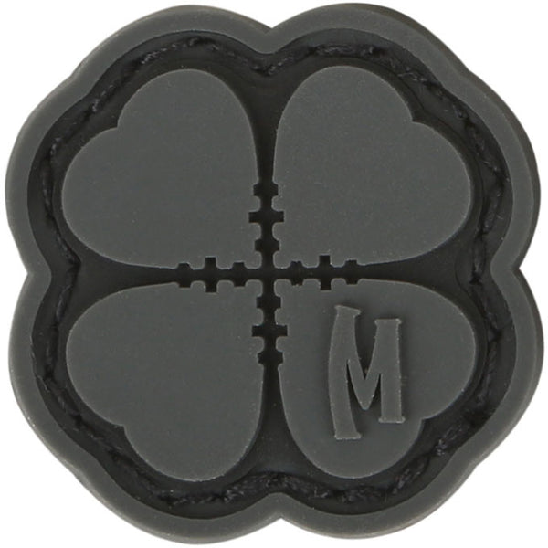 LUCKY SHOT CLOVER MICROPATCH - MAXPEDITION, Patches, Military, CCW, EDC, Tactical, Everyday Carry, Outdoors, Nature, Hiking, Camping, Bushcraft, Gear, Police Gear, Law Enforcement
