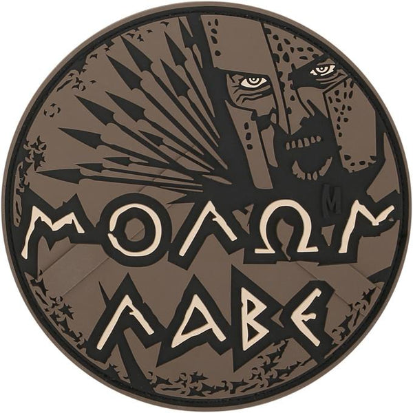 MOLON LABE PATCH - MAXPEDITION, Patches, Military, CCW, EDC, Tactical, Everyday Carry, Outdoors, Nature, Hiking, Camping, Bushcraft, Gear, Police Gear, Law Enforcement