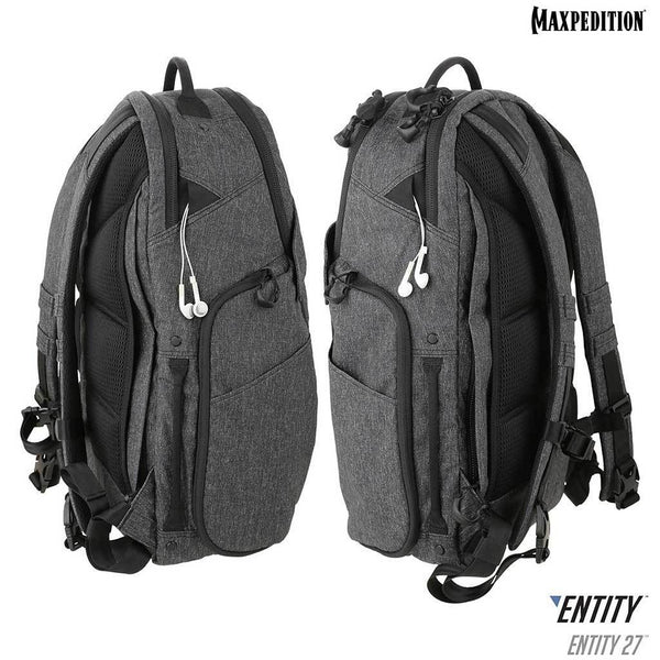 Entity 27™ CCW-Enabled Laptop Backpack 27L (Entity Ash Closeout)
