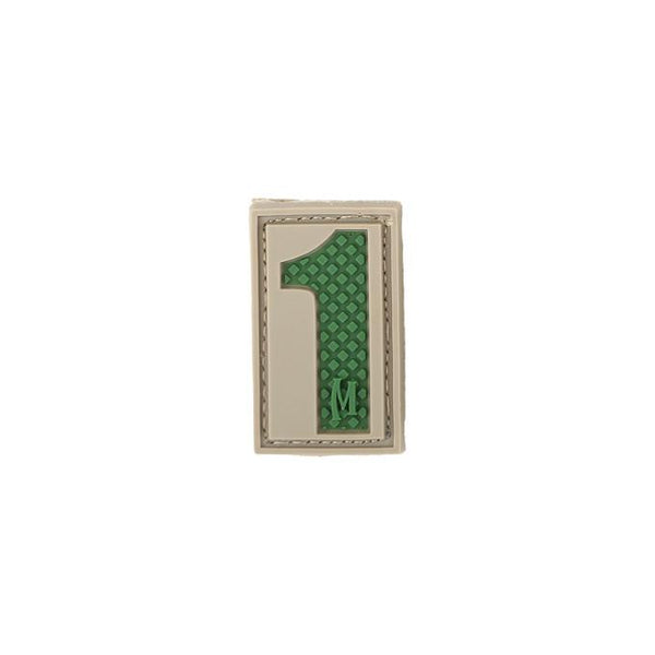 NUMBER 1 PATCH - MAXPEDITION, Patches, Military, CCW, EDC, Tactical, Everyday Carry, Outdoors, Nature, Hiking, Camping, Bushcraft, Gear, Police Gear, Law Enforcement