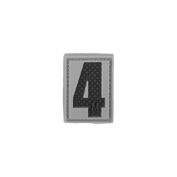 NUMBER 4 PATCH - MAXPEDITION, Patches, Military, CCW, EDC, Tactical, Everyday Carry, Outdoors, Nature, Hiking, Camping, Bushcraft, Gear, Police Gear, Law Enforcement