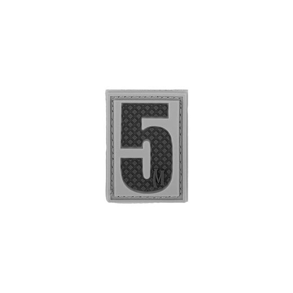 NUMBER 5 PATCH - MAXPEDITION, Patches, Military, CCW, EDC, Tactical, Everyday Carry, Outdoors, Nature, Hiking, Camping, Bushcraft, Gear, Police Gear, Law Enforcement