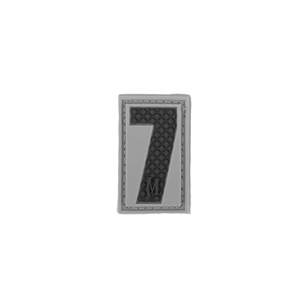 NUMBER 7 PATCH - MAXPEDITION, Patches, Military, CCW, EDC, Tactical, Everyday Carry, Outdoors, Nature, Hiking, Camping, Bushcraft, Gear, Police Gear, Law Enforcement