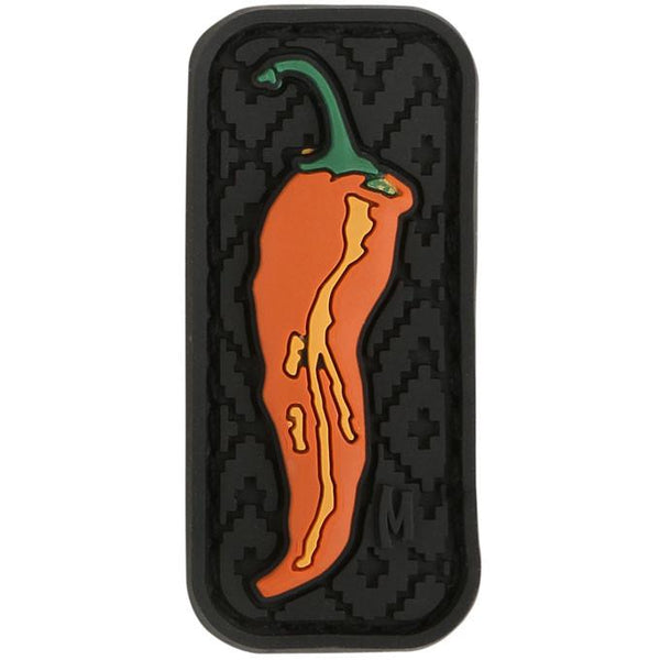 CHILLI PEPPER PATCH - MAXPEDITION, Patches, Military, CCW, EDC, Tactical, Everyday Carry, Outdoors, Nature, Hiking, Camping, Bushcraft, Gear, Police Gear, Law Enforcement