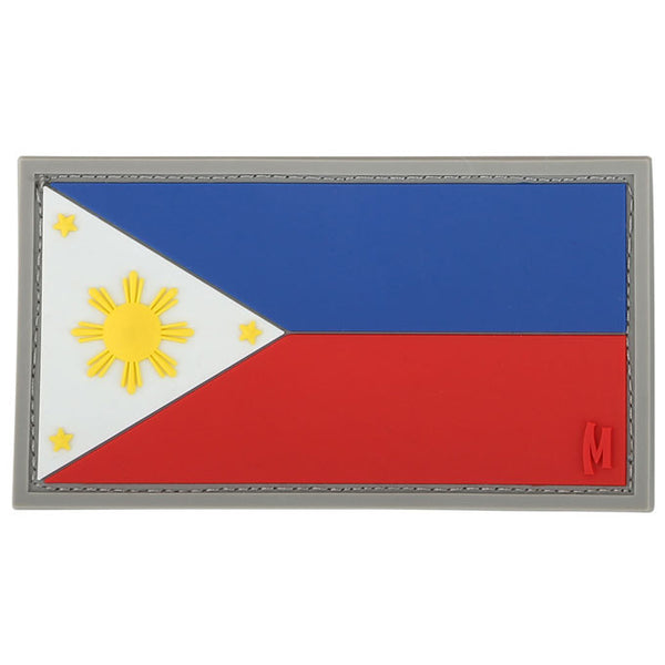 PHILIPPINES FLAG PATCH - MAXPEDITION, Patches, Military, CCW, EDC, Tactical, Everyday Carry, Outdoors, Nature, Hiking, Camping, Bushcraft, Gear, Police Gear, Law Enforcement