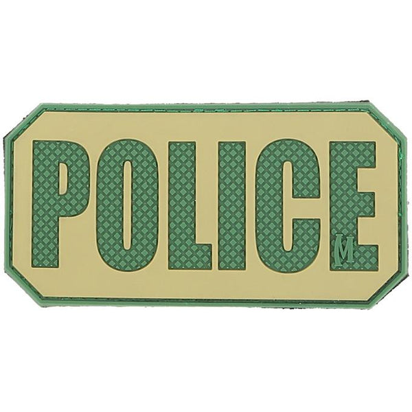 POLICE PATCH - MAXPEDITION, Patches, Military, CCW, EDC, Tactical, Everyday Carry, Outdoors, Nature, Hiking, Camping, Bushcraft, Gear, Police Gear, Law Enforcement