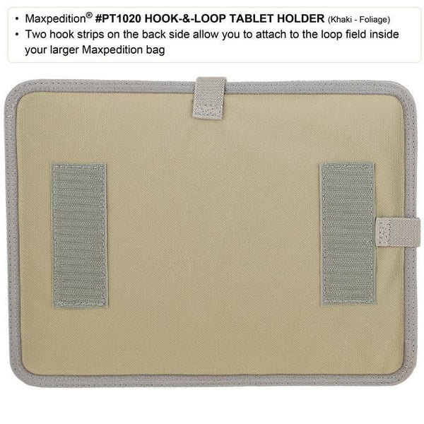 HOOK & LOOP TABLET HOLDER - MAXPEDITION