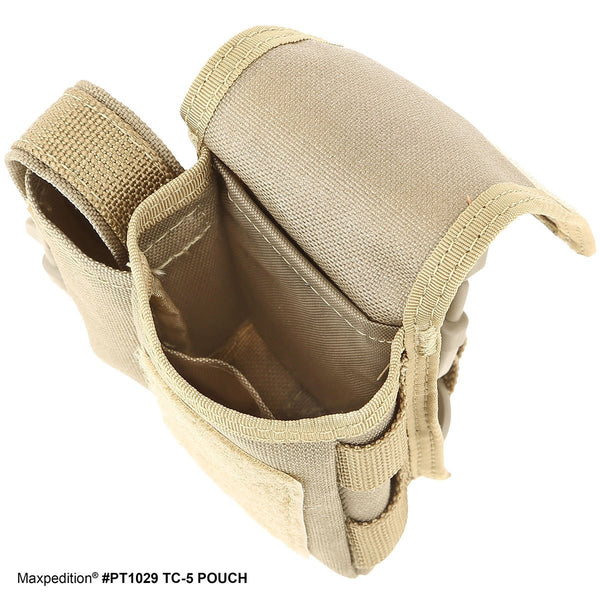 TC-5 POUCH - MAXPEDITION, Military, CCW, EDC, Everyday Carry, Outdoors, Concealed Carry, Nature, Hiking, Camping, Police Officer, EMT, Firefighter, Bushcraft, Gear, Travel, Tech, Computer, Technology, college.
