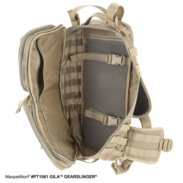 GILA GEARSLINGER (SMALL) - Maxpedition, Military, CCW, EDC, Tactical, Everyday Carry, Outdoors, Nature, Hiking, Camping, Police Officer, EMT, Firefighter, Bushcraft, Gear.