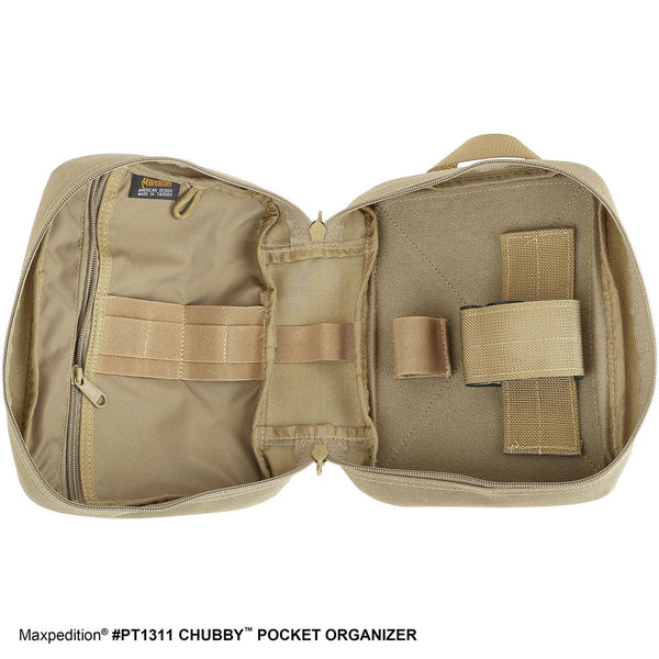 Chubby Pocket Organizer - MAXPEDITION, EDC, Everyday Carry, CCW, Tactical Gear, Pouch, Essential, First Aid Kit