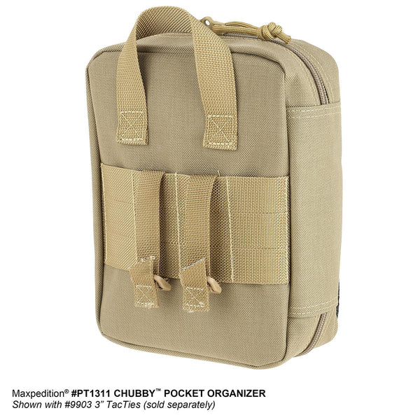 Chubby Pocket Organizer Maxpedition-Military, CCW, EDC, Tactical, Everyday Carry, Outdoors, Nature, Hiking, Camping, Police Officer, EMT, Firefighter,Bushcraft, Gear