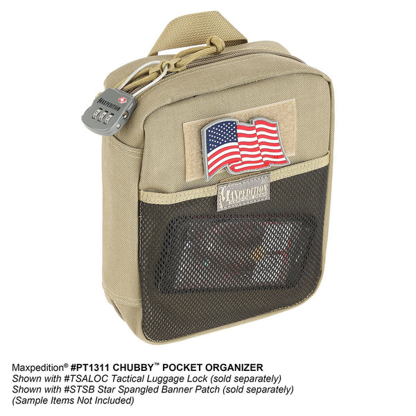 Chubby Pocket Organizer - Maxpedition-Military, CCW, EDC, Tactical, Everyday Carry, Outdoors, Nature, Hiking, Camping, Police Officer, EMT, Firefighter,Bushcraft, Gear
