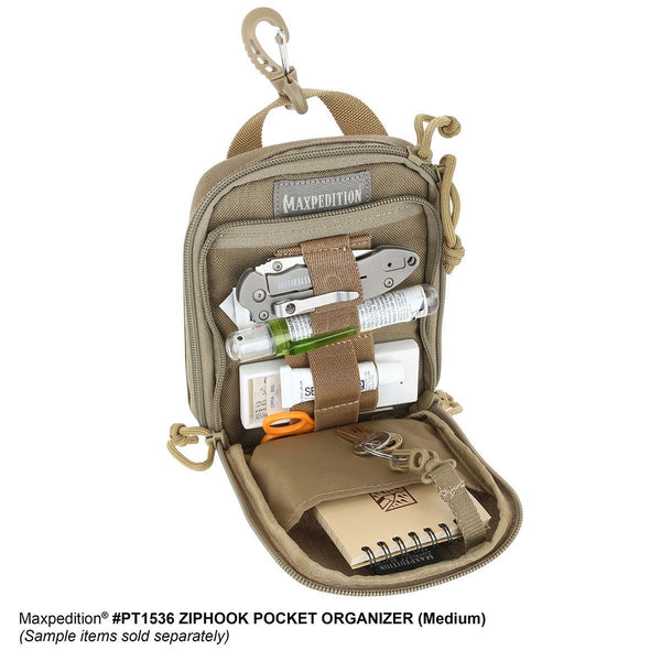 ZIPHOOK POCKET ORGANIZER (MEDIUM) - MAXPEDITION
