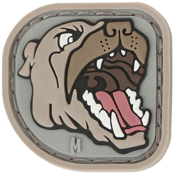 PIT BULL PATCH - MAXPEDITION, Patches, Military, CCW, EDC, Tactical, Everyday Carry, Outdoors, Nature, Hiking, Camping, Bushcraft, Gear, Police Gear, Law Enforcement