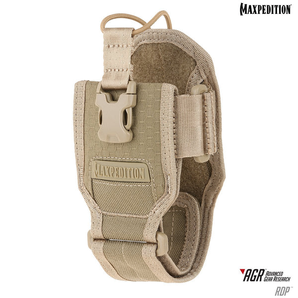 RDP RADIO POUCH - MAXPEDITION, Military, CCW, EDC, Everyday Carry, Outdoors, Nature, Hiking, Camping, Police Officer, EMT, Firefighter, Bushcraft, Gear, Travel.