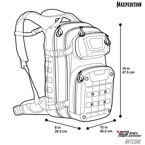 Riftcore™ Backpack | Maxpedition