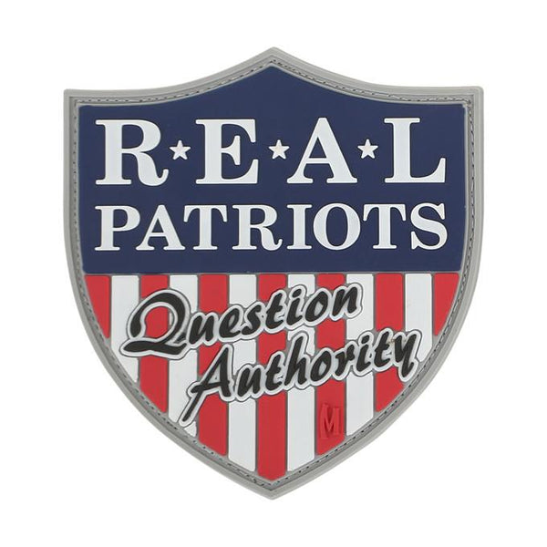 REAL PATRIOTS PATCH - MAXPEDITION, Patches, Military, CCW, EDC, Tactical, Everyday Carry, Outdoors, Nature, Hiking, Camping, Bushcraft, Gear, Police Gear, Law Enforcement