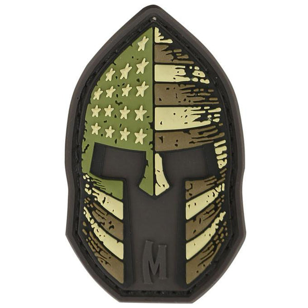 STARS AND STRIPES SPARTAN HELMET PATCH - MAXPEDITION, Patches, Military, CCW, EDC, Tactical, Everyday Carry, Outdoors, Nature, Hiking, Camping, Bushcraft, Gear, Police Gear, Law Enforcement